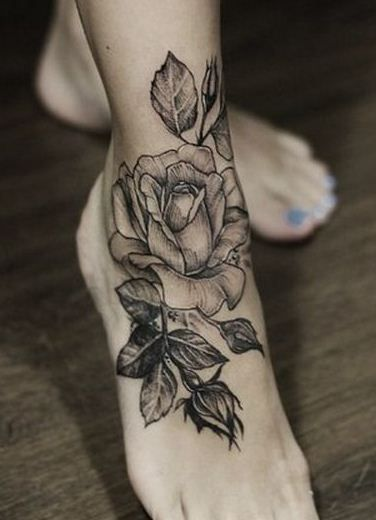 49 Ankle Tattoos For Your Inspiration