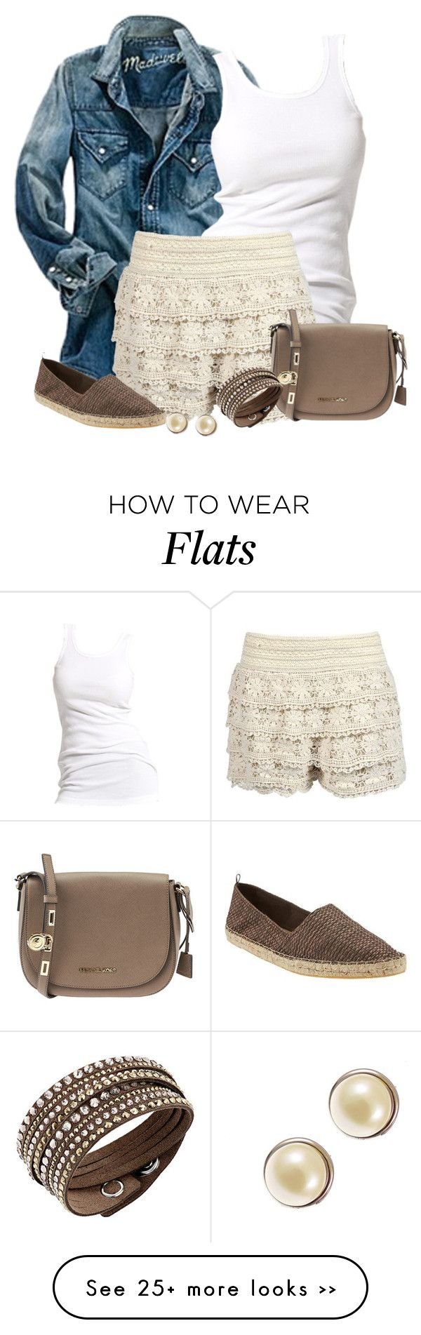 """Crochet Shorts"" by moosegodstiel on Polyvore"