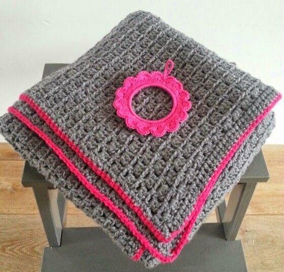 Haak & Maak: Stoere deken