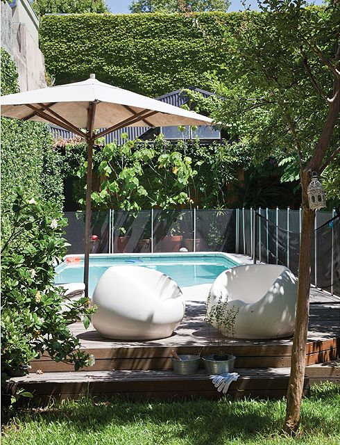 17 best images about vamos afuera on pinterest antigua - Jardines pequenos con encanto ...