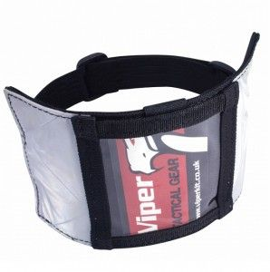 Viper Security ID Armband is ideal for door supervisors to hold and display their sia licence.