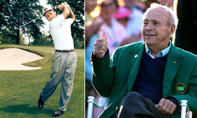 9/25/16*BREAKING NEWS: Golfing legend Arnold Palmer has died aged 87