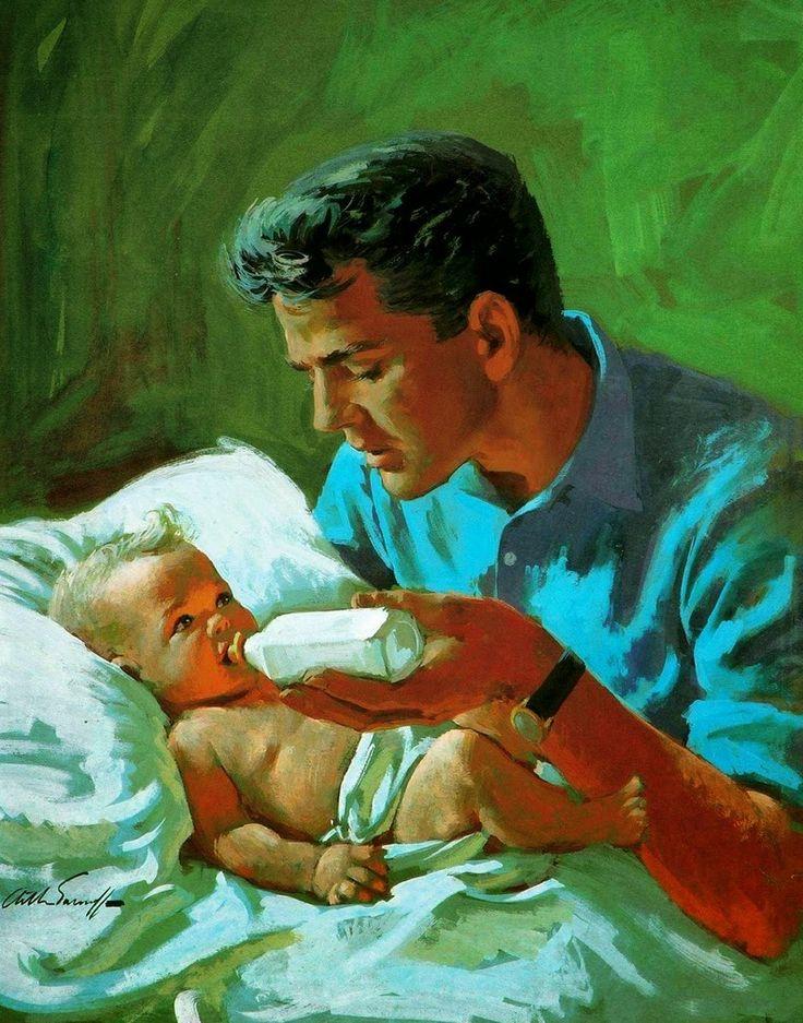 Картинки на тему отец и дети