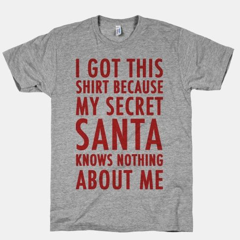 Make the best of an awkward corporate company secret santa setting!