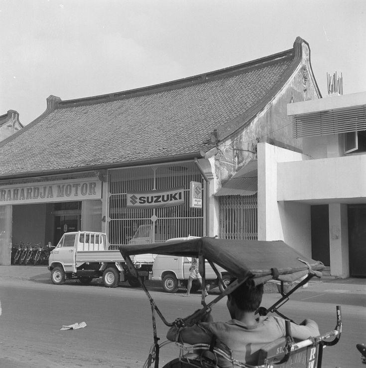 Chinese wijk. Jakarta. 1972