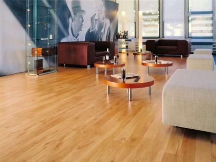 Composed of materials like linseed oil, cork, limestone, wood flour and tree resins, linoleum is extremely durable, low-maintenance and comes in many patterns and colors. Available in sheets or more intricate cuts, linoleum can complement almost any home style.