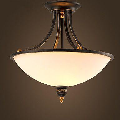 MAX 60W Mennyezeti lámpa , Rusztikus / Régies (Vintage) Festmény Funkció for Mini stílus FémNappali szoba / Hálószoba / Étkező / 4244658 2016 – $143.99