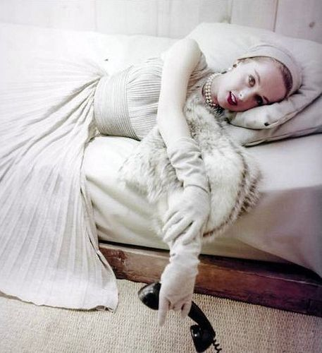 Tippi Hedren photographed by Milton Greene, 1952.