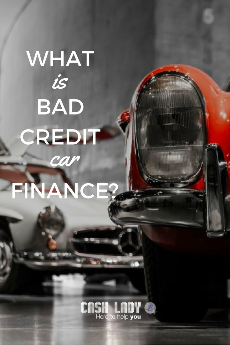 When you are in need of cash to buy a new car, the thought of looking for bad credit car finance can be intimidating.  CashLady takes a look at car finance options for those who want to borrow money to buy a car but who do not have a good credit history.