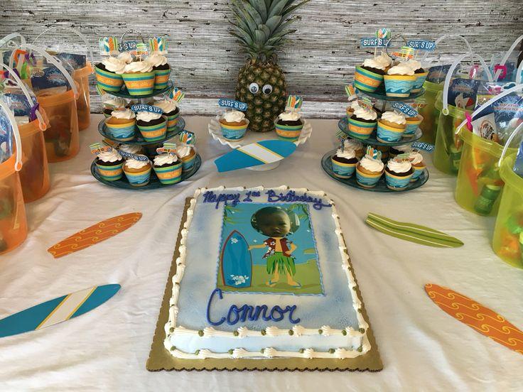 20 best 1st birthday partytropicalsurf theme images on Pinterest