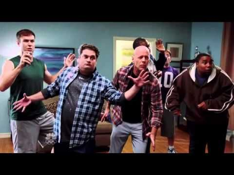 Boys Dance Party ft Bruce Willis SNL S039E03 (This video is too funny)