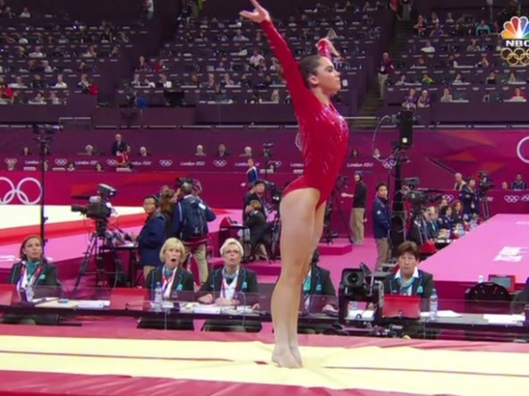 Even The Judges Were Amazed By McKayla Maroney's Perfect Vault