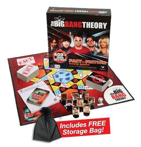 The Big Bang Theory Trivia Game W/free Storage Bag @ niftywarehouse.com #NiftyWarehouse #BigBangTheory #TV #Show #BigBangTheoryShow #BigBangTheoryTVShow #Comedy