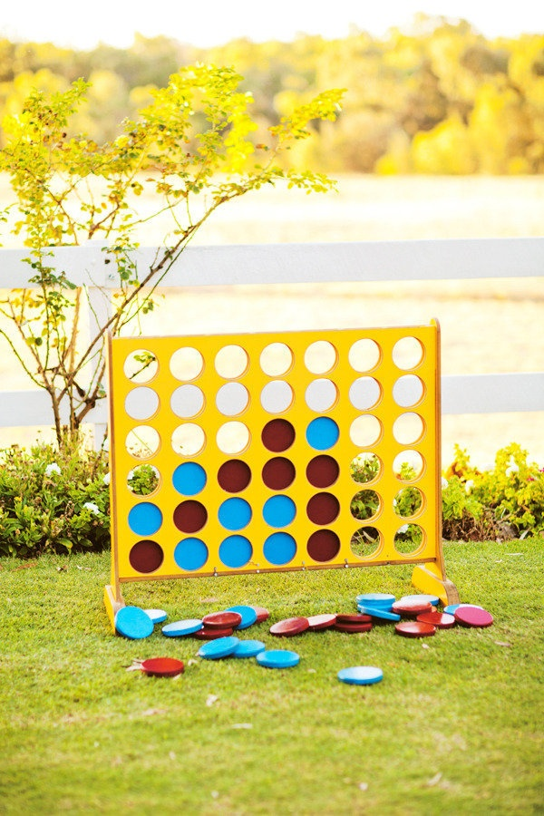 Giant Connect 4. Best. lawn game. EVER. I have to have it