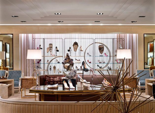 Bergdorf goodman women 39 s shoe salon store interiors - Bergdorf goodman salon ...