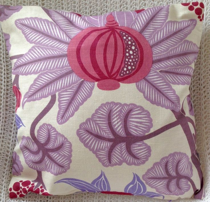 A personal favorite from my Etsy shop https://www.etsy.com/listing/234306331/bright-flower-design-purple-cushion