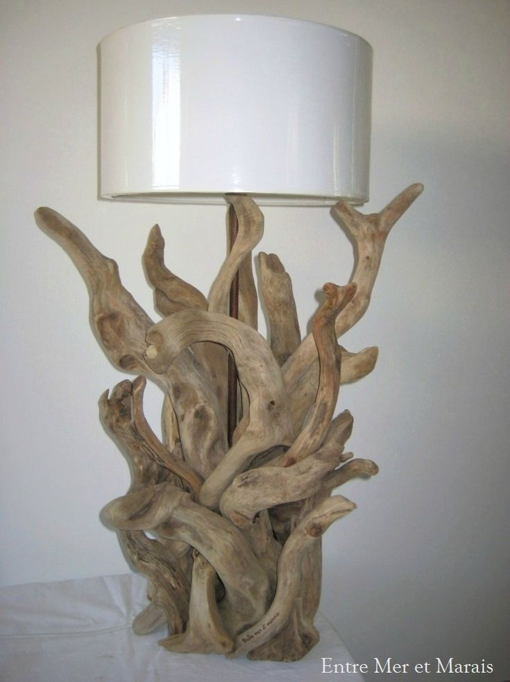 74 best bois flott images on pinterest wood lamps. Black Bedroom Furniture Sets. Home Design Ideas