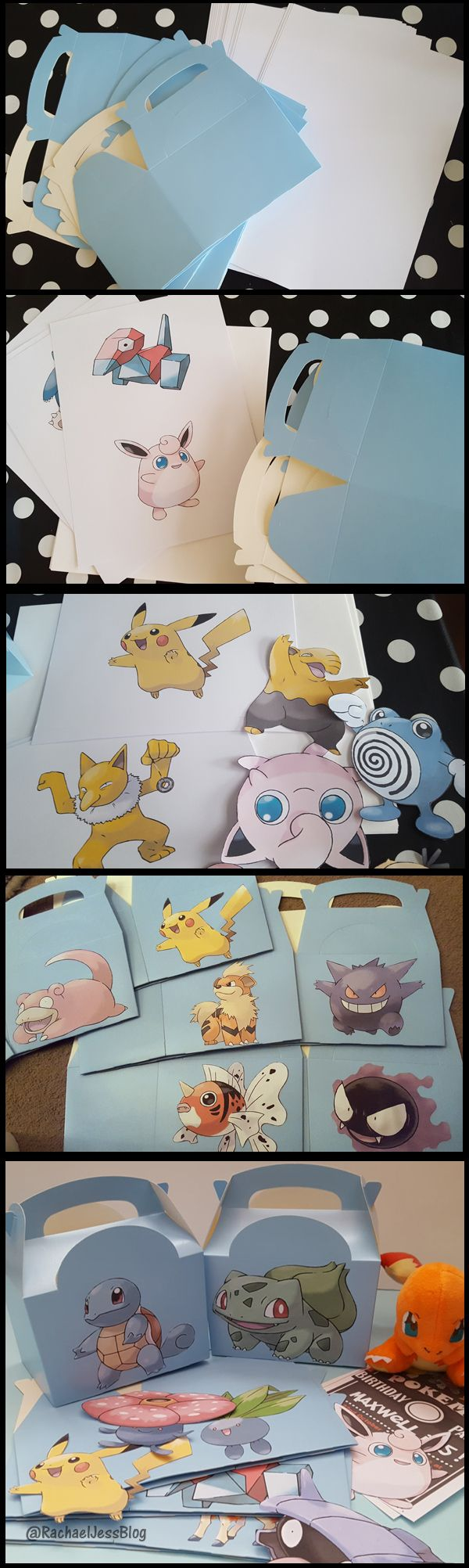 How to create Pokemon Lunch Boxes