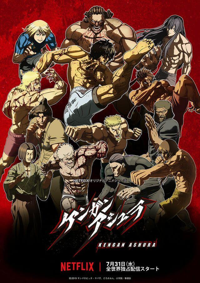 Kengan Ashura Season 2 Launches on Netflix on 10/31/2019