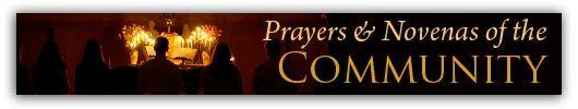 Prayers and Novenas