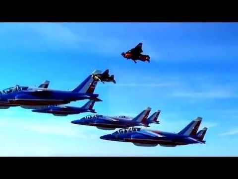 Flying leaders of sky jetman Dubai to jetpack aviation