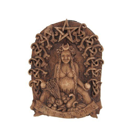 Small Celtic Goddess Habondia Wall Plaque Prosperity by Things2Die4. $24.99. Makes A Great Housewarming Gift. 5 1/4 Inches By 3 3/4 Inches. Cold Cast Resin. This beautiful mini wall plaque, by Dryad Design and artist Paul Borda, celebrates habondia, the Anglo-Saxon Goddess of Abundance and Prosperity.  Habondia is descended from a Germanic Goddess of the Earth. On this plaque, Habondia is surrounded by the abundance of harvests gifts in the form of life-giving fruits an...