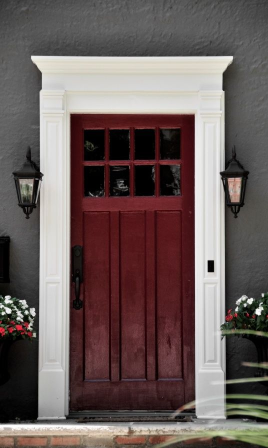 9 Best Door Surrounds Headers Images On Pinterest Photo Galleries Shutters And Home Exteriors