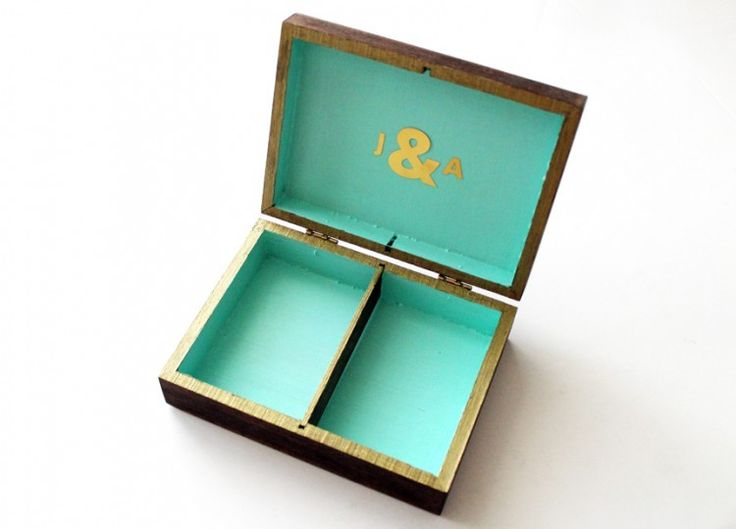 Ann-Marie Loves   DIY Wedding Ring Box **SEE IF THEY HAVE ONE AT $STORE? PAINT IT, AND SAVE LIKE, 35 DOLLARS!