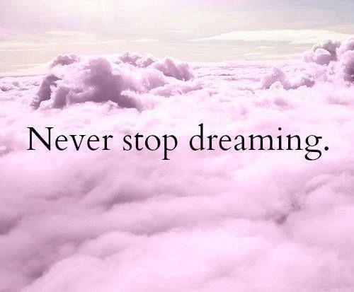no dejes de soñar