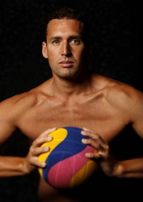 Merrill Moses will be the goalkeeper for the US water polo team.
