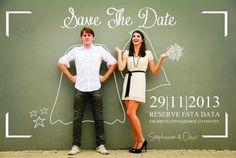 Save the Date – formas criativas de anunciar seu casamento   http://nathaliakalil.com.br/save-the-date-formas-criativas-de-anunciar-seu-casamento/