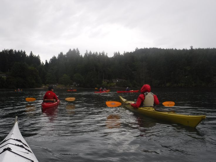 Kayaking on the Pacific Ocean, Pender Island, BC, Dog Mermaid Eco Excursions, Kayak Rentals & Retreats