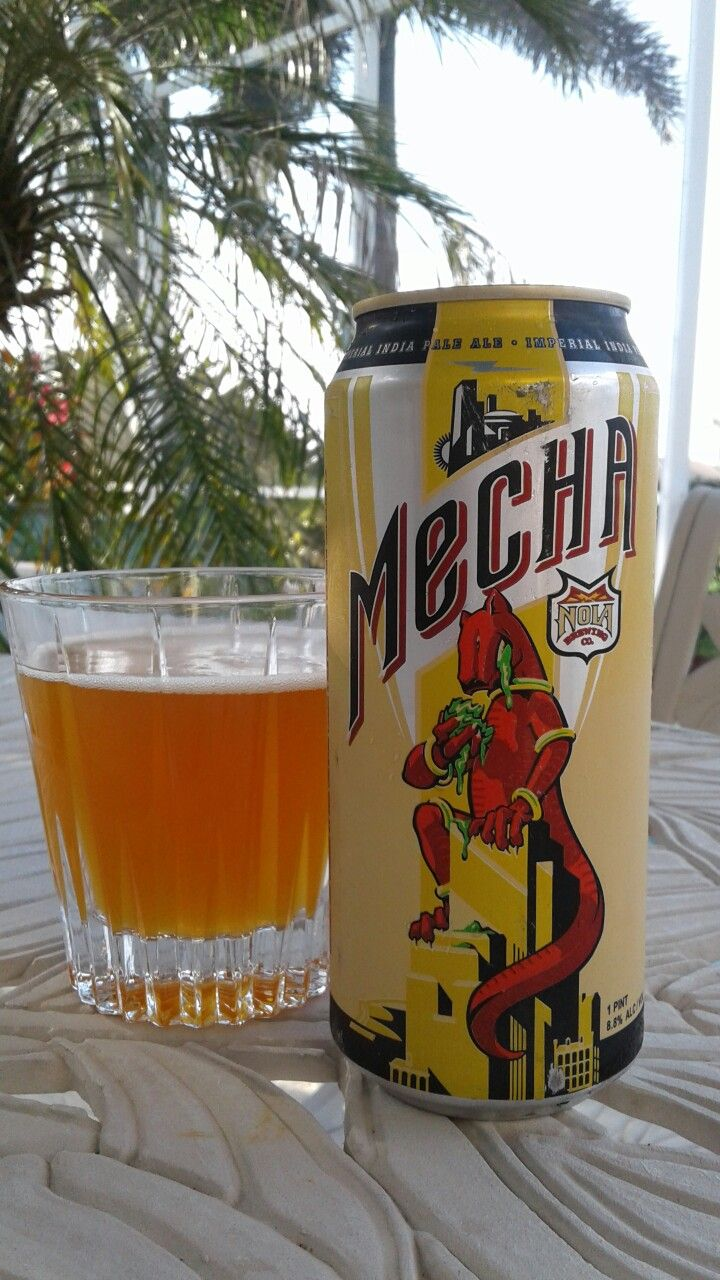 Mecha - Imperial IPA - 8.8%ABV  Nola Brewing Co., New Orleans, LA