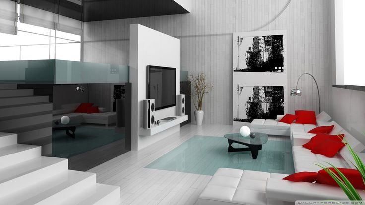 гостиная студия с камином в стиле модерн фото: 25 тыс изображений найдено в Яндекс.Картинках