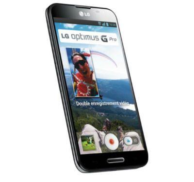 Téléphone portable sans abonnement LG Optimus G pro noir