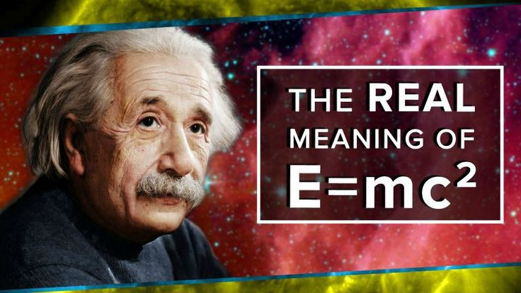 Albert Einstein is one of the best minds in history. His contributions to the fields of cosmology, physics and mathematics are uncountable, but possibly, the most significant works were his theories of general and special relativity. So here is what E=mc2 truly means: