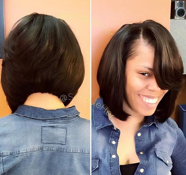 bob haircuts with weave pin by patrice chichester on hair 2595