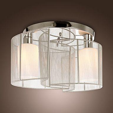 Lustre de Tecto Moderno com 2 Luzes - BRL R$ 175,80