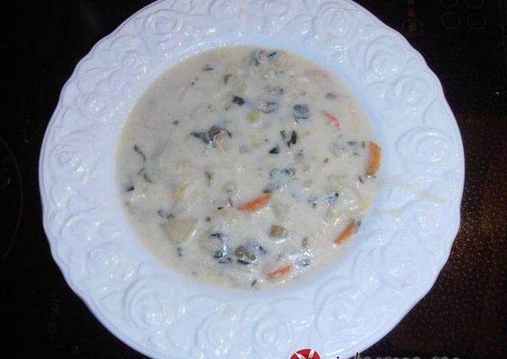 Σούπα-βάλσαμο, με πράσα, καρότα και πατάτες
