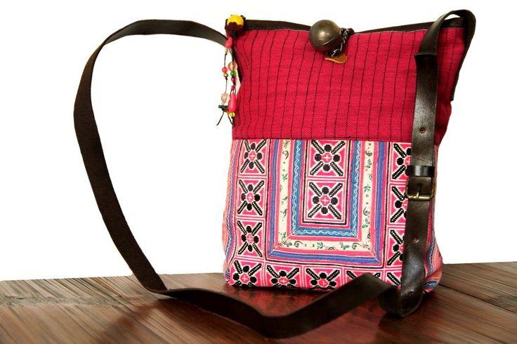 Coup de coeur de ce nouvel arrivage de sac besace, c'est la besace Luang Prabang. Comme tous les