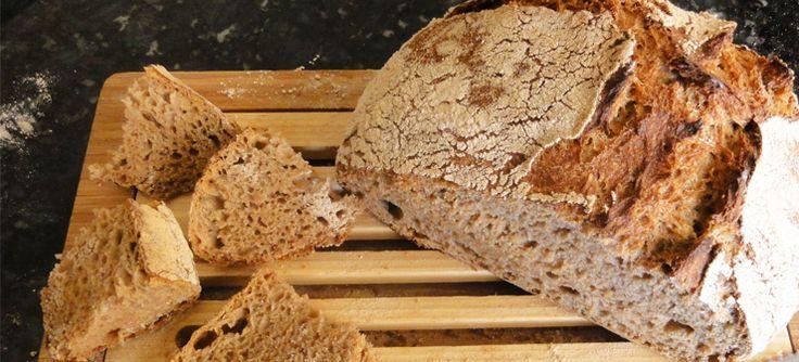 Paine de casa, la cuptor de paine.