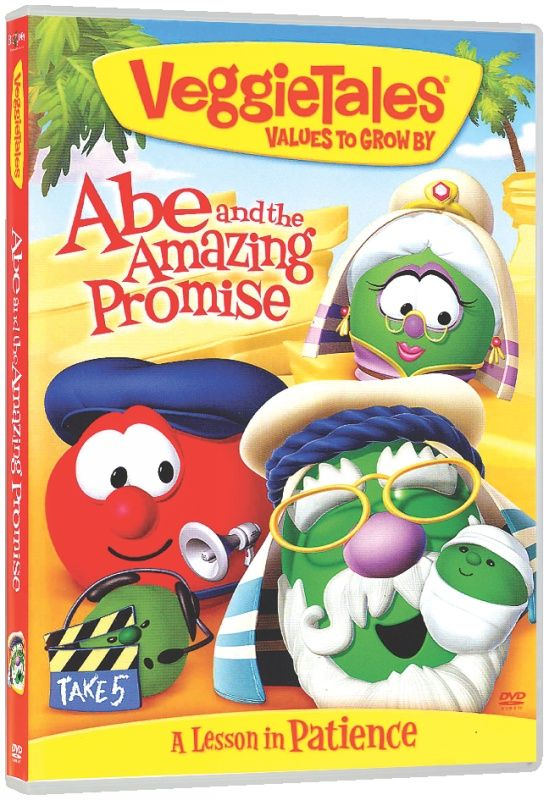 DVD Veggie Tales #34: Abe and the Amazing Promise