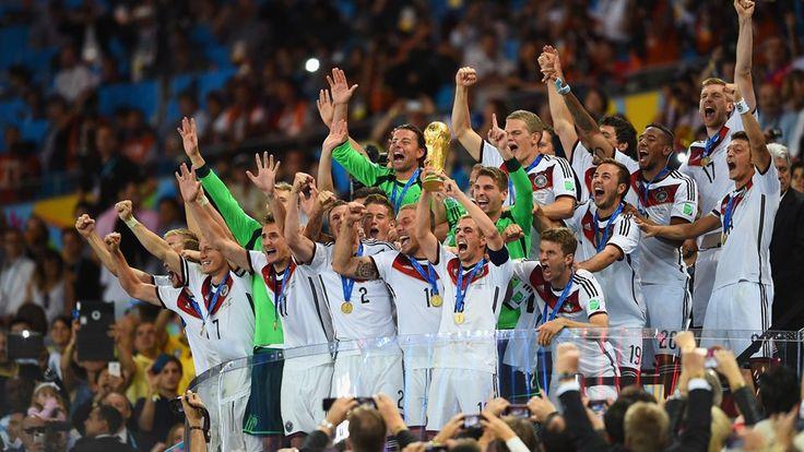 El grito y júbilo alemán. #MundialBrasil2014