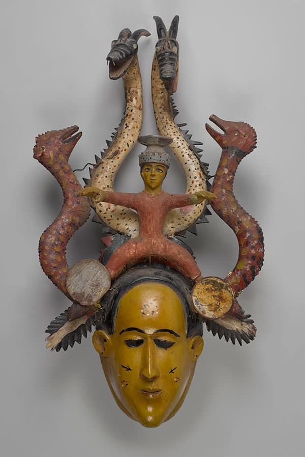 Ode-Lay mask by unidentified Temne artist, mid-20th century