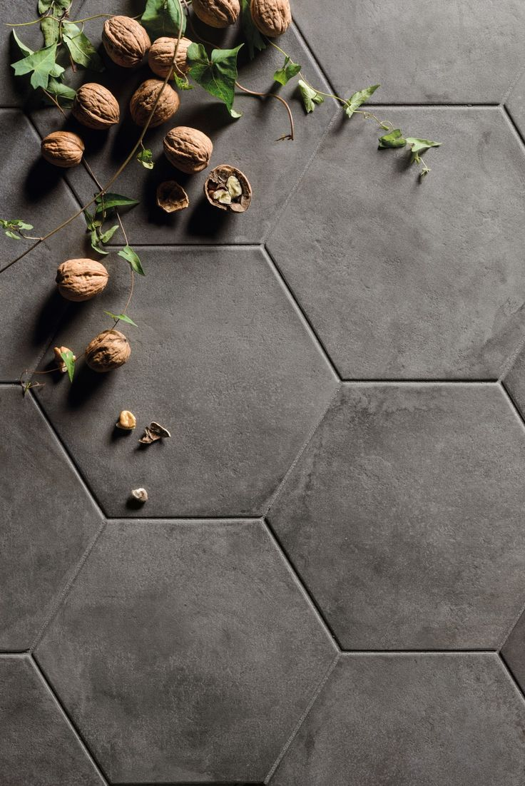 Köp Terra Antracit Hexagon - Stenbolaget