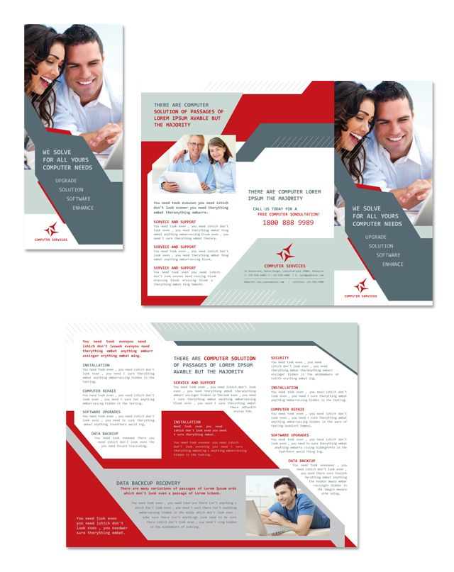 The  Best Tri Fold Brochure Template Ideas On   Tri