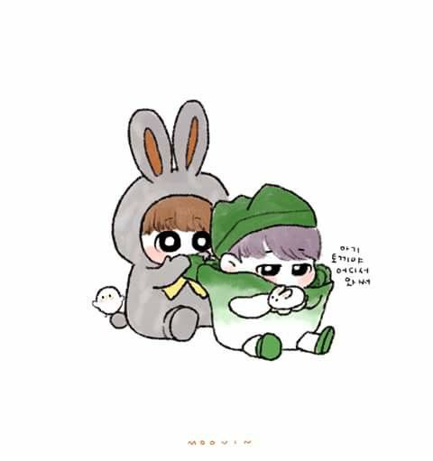 Cartoon Characters 21st Century : Best images about bts drawings on pinterest chibi