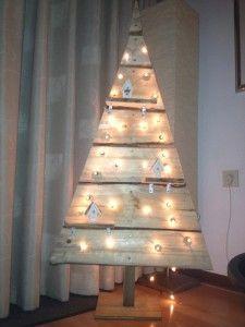 Zelf een houten kerstboom maken! [werkbeschrijving + foto's] - Christmaholic.nl