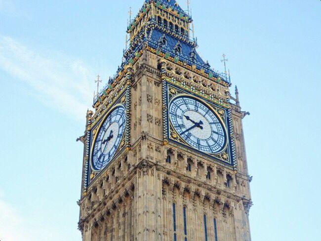 Big Ben in London / Oct, 2012