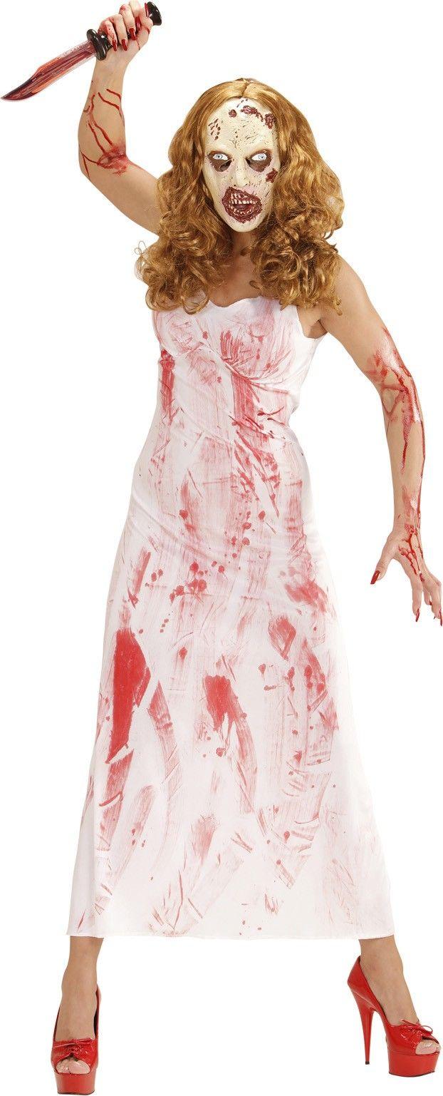 De meest originele Halloween kostuums zijn hier beschikbaar! Bestel nu deze enge bloedige moordenares outfit voor dames voor een goedkope prijs!